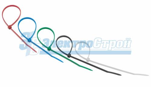 Хомут nylon 200 x 3,6 мм 25шт цветные  REXANT