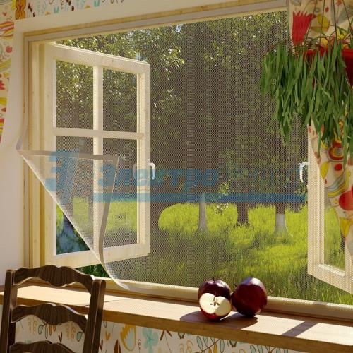 Москитная сетка для окон с крепежной лентой СБ