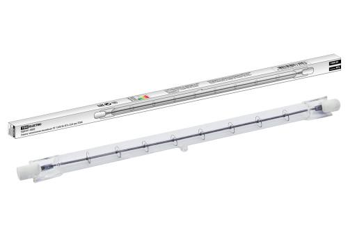 Лампа галогенная линейная ЛГ-1500 Вт-R7s-254 мм TDM