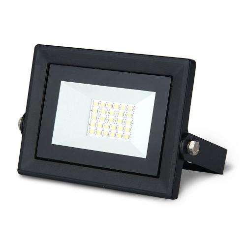 Прожектор светодиодный Gauss Qplus 20W 2000lm IP65 6500К черный 1/20