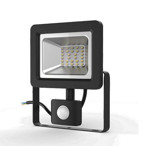 Прожектор светодиодный Gauss Elementary-S 30W 2080lm IP65 6500К черный с датчиком движения 1/20