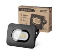 Светодиодный прожектор LFL-30W/05, 5500K, 30 W SMD, IP 65,цвет серый,слим