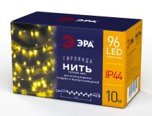 Гирлянды ENON-10B  ЭРА Гирлянда LED Нить 10 м теплый свет, 24V, IP44