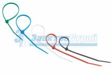 Хомут nylon 150 x 2,5 мм 25шт цветные REXANT