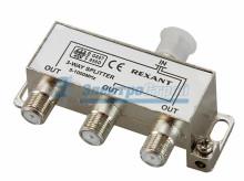 ДЕЛИТЕЛЬ  ТВ х 3 под F разъём 5-1000 МГц  REXANT