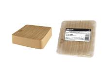 Коробка распаячная КР 50х50х20 ОП сосна, с клем. колодкой, IP40, инд. штрихкод TDM
