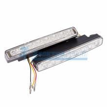 Дневные ходовые огни с указателем поворота в пластиковом корпусе  16 диодов