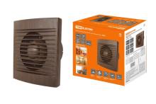 Вентилятор бытовой настенный, бук, 100 С TDM
