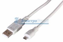 Шнур  micro USB (male) - USB-A (male)  1.8M  REXANT