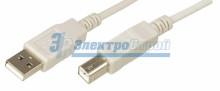 Шнур  USB-А (male) - USB-B (male)  1.8M  REXANT