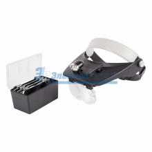 Бинокуляр монтажный 1.2X, 1.8X, 2.5X, 3.5X с 2хLED подсветкой