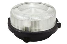 Светильник НПП 03-100-005.03 У3 (корпус с обручем без защитной решетки, черный) TDM