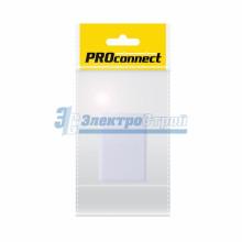 Розетка телефонная 1х6Р-4С PROCONNECT Индивидуальная упаковка  1шт