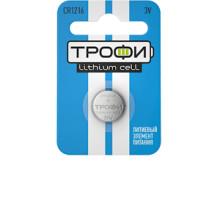 Элемент питания  Трофи CR1216-1BL (1/10)