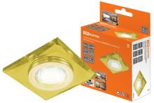 Светильник встраиваемый СВ 03-02 MR16 50Вт G5.3 жёлтый/золото TDM