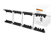Набор шинных держателей и крепежа НШД  2/10 T для 3Р системы шин 30-120 x 10 мм TDM
