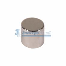Неодимовый магнит диск 10х10мм сцепление 3,7 кг (упаковка 2 шт)