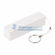 Портативное зарядное устройство Power Bank 2000 mAh USB PROconnect (ЦВЕТ БЕЛЫЙ)
