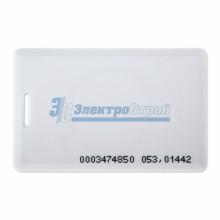 Электронный ключ (карта с прорезью) 125KHz формат EM Marin