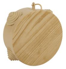ЭРА Коробка распаячн. открытой установки КОР (сосна) 65х40мм с гермовводами 4 вх. IP54 (60/1800)