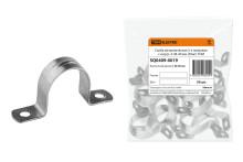 Скоба металлическая 2-х лапковая с внутр. d 38-40 мм (50шт)