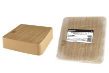 Коробка распаячная КР 100х100х29 ОП сосна IP40, инд. штрихкод TDM