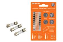 Плавкая вставка ВПБ6-1 0,16А 250В TDM упак (10 шт.)