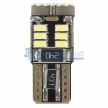 Лампочка Т10 плоская -18 светодиодов