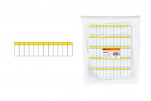 Маркировочная таблица на 12 модулей