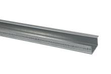 DIN-рейка усиленная 35х15х1,2х2000мм оцинкованная TDM