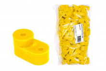 Изолятор угловой желтый TDM