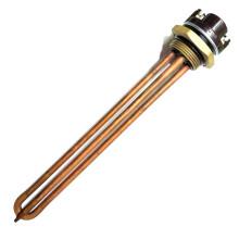 Нагревательный элемент для бойлера, ТЭН, RDT - 1500 Вт, фланец М6, 42 мм, с терморегулятором 80 град