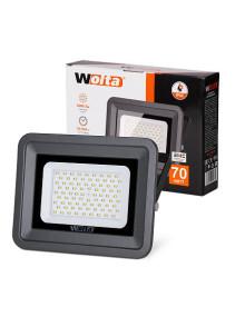 Светодиодный прожектор WFL-70W/06, 5500K, 70W SMD, IP 65, цвет серый, слим