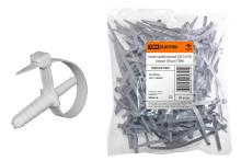 Хомут дюбельный ХД 7х150 серый (50шт) TDM