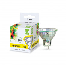 Лампа галогенная JCDR 50Вт 230В GU5.3 900Лм ASD