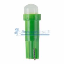 Светодиодная лампочка Т5, цвет зеленый