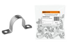 Скоба металлическая 2-х лапковая с внутр. d 60-63 мм (50шт)