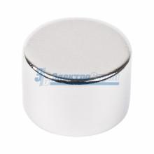 Неодимовый магнит диск 15х10мм сцепление 8 кг (Упаковка 1 шт)