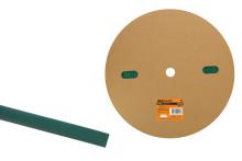Термоусаживаемая трубка ТУТнг 10/5 зеленая (100 м/ролл) TDM