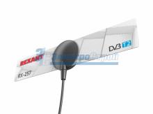 ТВ-Антенна комнатная для цифрового телевидения DVB-T2 на присоске