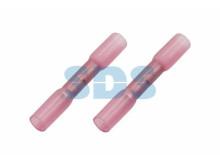 Соединительная гильза изолированная термоусаживаемая L-37 мм 0.5-1 мм² (ГСИ-т 1.0/ГСИ-т 0,5-1,0) кра