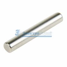 Неодимовый магнит пруток 4х25 мм  сцепление 1,3 кг (Упаковка 6 шт)