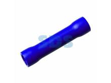 Соединительная гильза изолированная L-26 мм 1.5-2.5 мм² (ГСИ 2.5/ГСИ 1,5-2,5) синяя REXANT