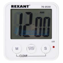 Цифровые часы с таймером обратного отсчета REXANT RX -100 а