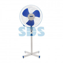 Вентилятор напольный DUX DX-16, 40 Вт, 220V, бело-синий