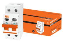 Выключатель нагрузки (мини-рубильник) ВН-32 2P 80A TDM