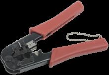 ITK Инструмент обжим для RJ-45,12,11 без храп мех сине-оранж