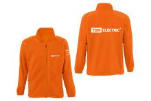 Куртка флисовая оранжевая (XL) TDM