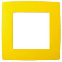 12-5001-21  ЭРА Рамка на 1 пост, Эра12, жёлтый