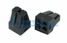 Электромонтажные экспресс-клеммы 773-304 (4*2.5мм² с пастой) REXANT